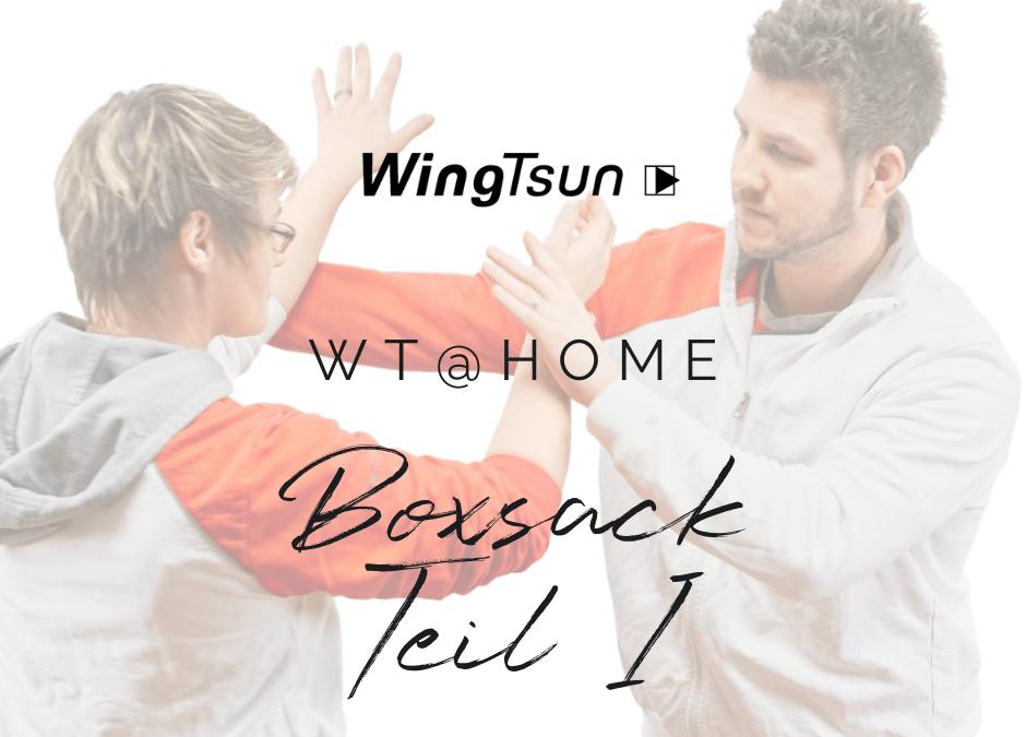 WT@home – Boxsack Teil 1