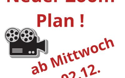 Neuer Plan ab 02.12.