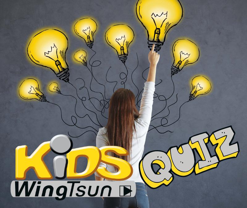 Kids WingTsun Quiz
